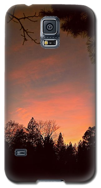 Sunset In Winter Galaxy S5 Case