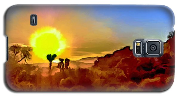 Sunset Joshua Tree National Park V2 Galaxy S5 Case