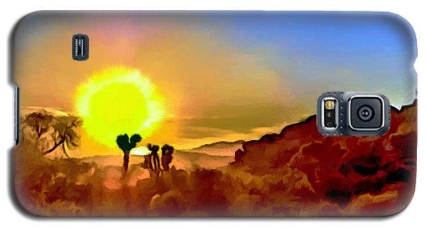 Sunset Joshua Tree National Park V2 Galaxy S5 Case