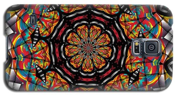 Sunset K 88 Kaleidoscope Galaxy S5 Case