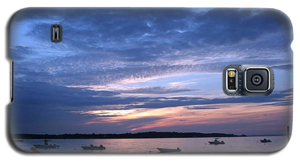 Galaxy S5 Case featuring the photograph Sunset by Karen Silvestri