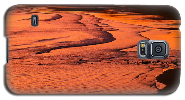Sunset Lahinch Ireland Galaxy S5 Case by Butch Lombardi