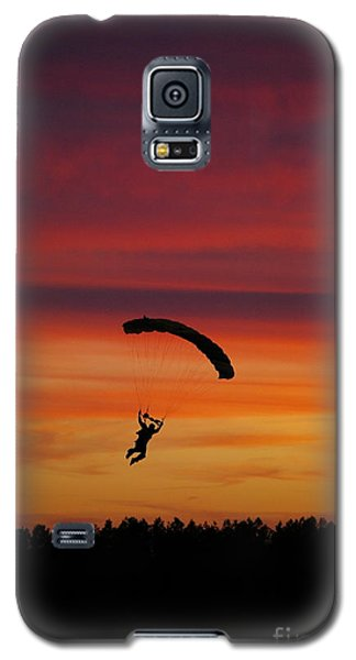 Sunset Landing Galaxy S5 Case