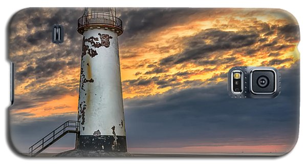 Sunset Lighthouse Galaxy S5 Case by Adrian Evans