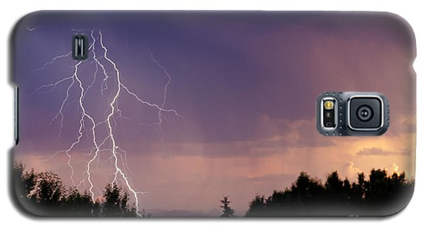 Sunset Lightning Galaxy S5 Case