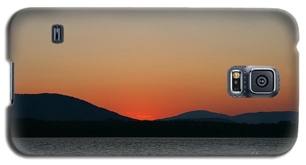 Sunset Lines Of Lake Umbagog  Galaxy S5 Case