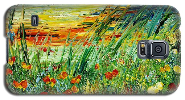 Sunset Meadow Series Galaxy S5 Case