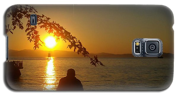 Sunset Meditation Galaxy S5 Case