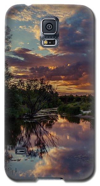 Sunset Mirror Galaxy S5 Case