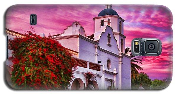 Sunset Mission San Luis Rey De Francia By Diana Sainz Galaxy S5 Case