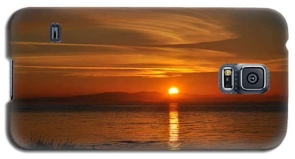 Galaxy S5 Case featuring the photograph Sunset Mood by Sabine Edrissi