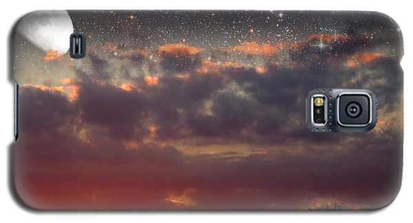 Sunset Moonrise Galaxy S5 Case by Pete Trenholm