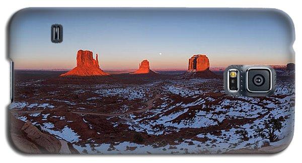 Sunset Moonrise Galaxy S5 Case