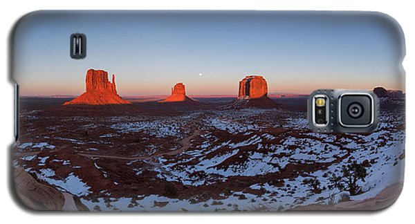 Sunset Moonrise Galaxy S5 Case