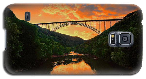 Sunset New River Gorge Galaxy S5 Case