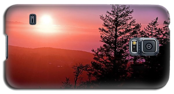 Sunset Off Mt Erie Washington Art Prints Galaxy S5 Case