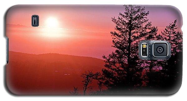 Sunset Off Mt Erie Washington Art Prints Galaxy S5 Case