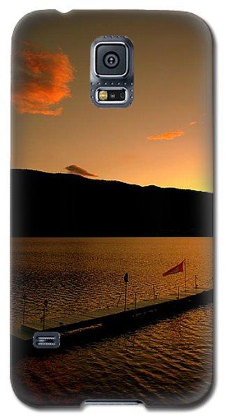 Sunset - Okanagan Valley 3/21/2014  Galaxy S5 Case