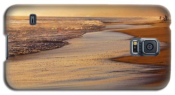 Sunset On A Beach Galaxy S5 Case