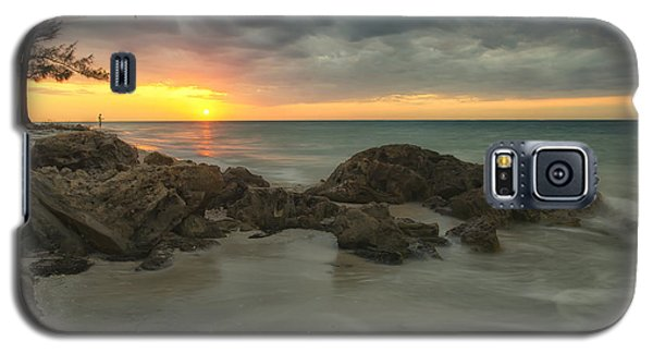 Sunset On Bean Point Galaxy S5 Case