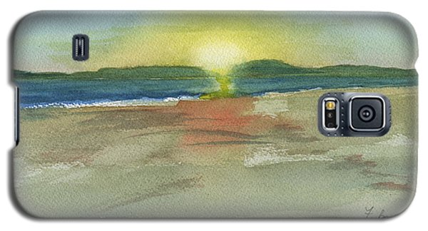 Sunset On Hilton Head Island Galaxy S5 Case by Frank Bright