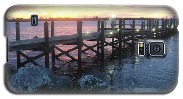 Sunset On Indian River Galaxy S5 Case by Megan Dirsa-DuBois