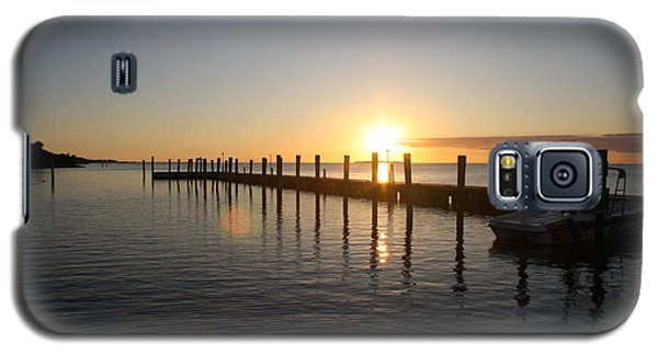 Galaxy S5 Case featuring the photograph Sunset On Key Largo by Christiane Schulze Art And Photography