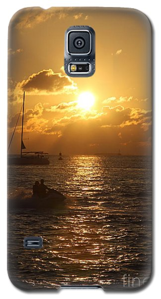 Galaxy S5 Case featuring the photograph Sunset Over Key West by Christiane Schulze Art And Photography