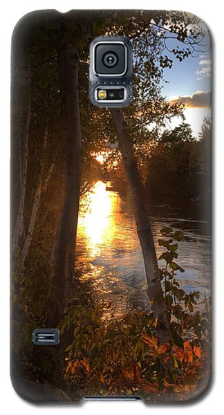 Sunset On Lake  Galaxy S5 Case