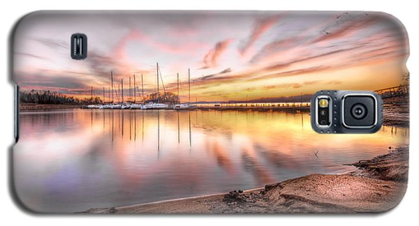 Sunset On Lake Hartwell Galaxy S5 Case