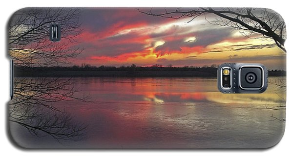 Sunset On Lake Mitchell Galaxy S5 Case