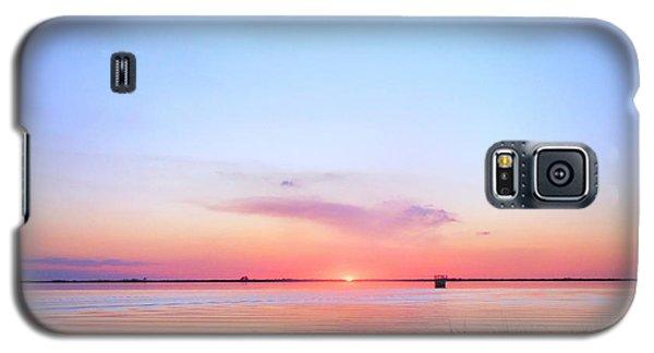 Sunset On Lake Washington Galaxy S5 Case