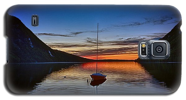 Sunset On Lake Willoughby Galaxy S5 Case