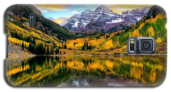 Sunset On Maroon Bells Galaxy S5 Case