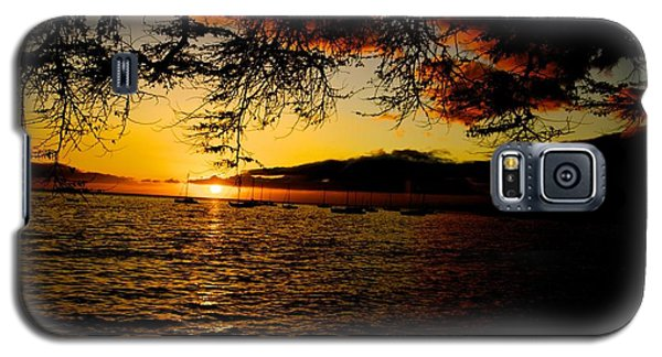 Sunset On Maui Galaxy S5 Case