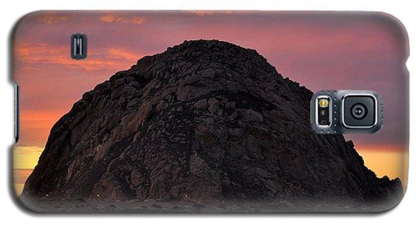 Sunset On Morro Rock Galaxy S5 Case