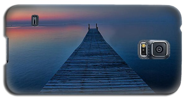 Sunset On Pamlico Sound Nc Galaxy S5 Case by Laurinda Bowling