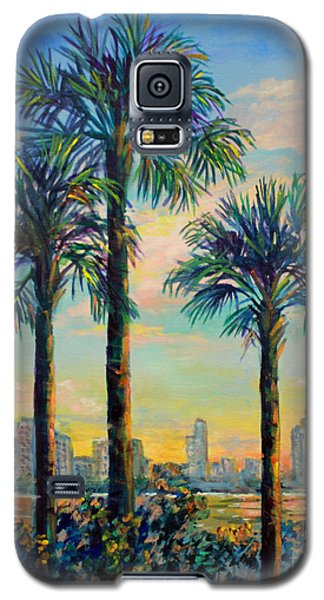 Sunset On Sarasota Bay Galaxy S5 Case by Lou Ann Bagnall