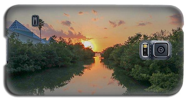 Sunset On Sarasota Bay Galaxy S5 Case