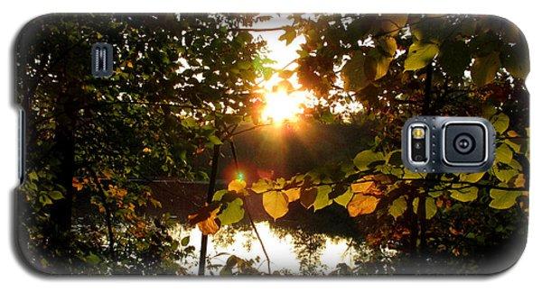 Galaxy S5 Case featuring the photograph Sunset On Scout Lake by Kimberly Mackowski