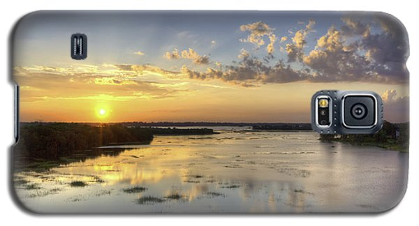 Sunset On The Ashley Galaxy S5 Case