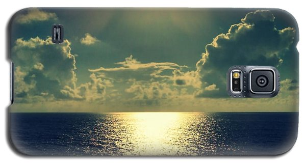 Sunset On The Atlantic Ocean Galaxy S5 Case