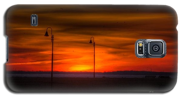 Sunset On The Boardwalk Galaxy S5 Case