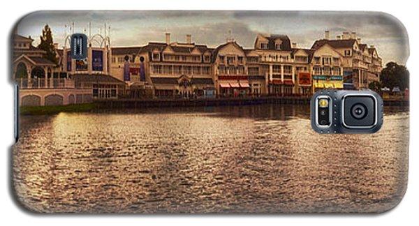 Sunset On The Boardwalk Walt Disney World Galaxy S5 Case by Thomas Woolworth