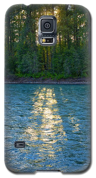 Sunset On The Bulkley Galaxy S5 Case