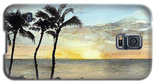 Sunset On The Coast Galaxy S5 Case