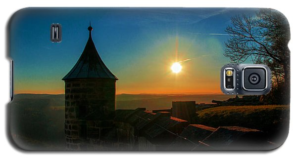 Sunset On The Fortress Koenigstein Galaxy S5 Case