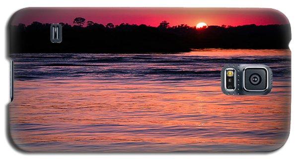 Sunset On The Halifax Galaxy S5 Case