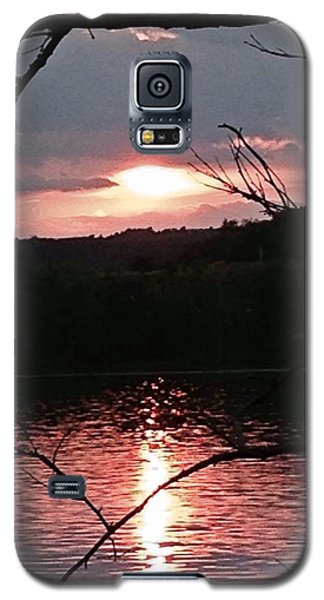 Sunset On The Hudson Galaxy S5 Case