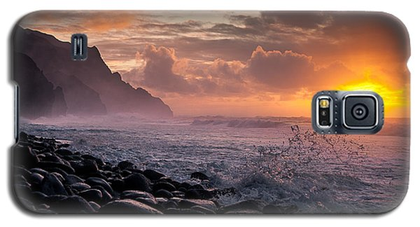 Sunset On The Kalalau Galaxy S5 Case